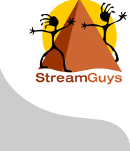 StreamGuys, Inc. Logo