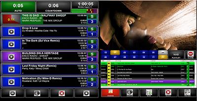 ENCO's Visual Radio interface