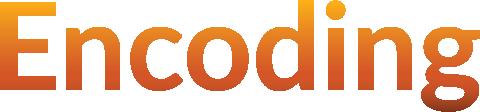 Encoding logo
